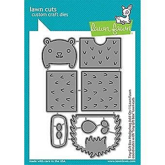 Lawn Fawn Tiny Gift Box Hedgehog Add-On Dies