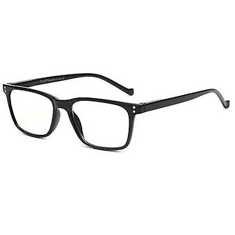 Retro Classic Okuliare na čítanie proti modrému svetlu Obdĺžnik Priehľadné