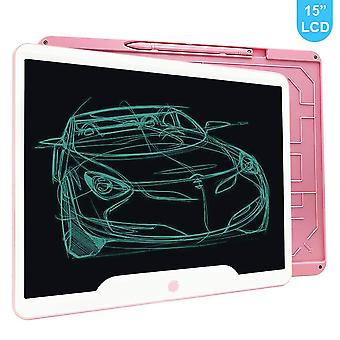Richgv lcd writing tablet, 15 inch electronic doodle pads digital ewriter graphics tablets, portable