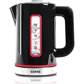 Duronic Electric Kettle EK30 BK | BLACK | 1.5L Boil 3000W Eco Kettle