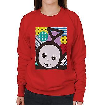 Teletubbies Tinky Winky The First Teletubby Women's Sweatshirt