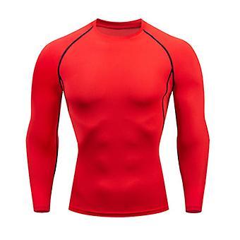 Mäns snabba torra, termiska underkläder uppsättningar, kör komprimering sport kostym