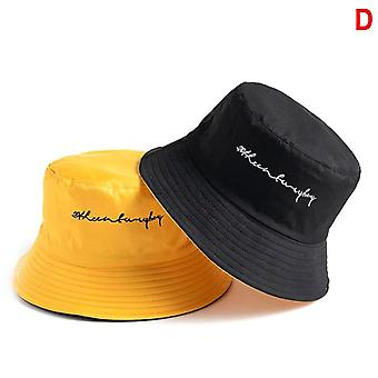 Unisex Harajuku Bucket Outdoor Hip Hop Cap For Fisherman