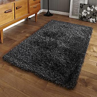 Monte Carlo hechas a mano alfombras Shaggy en gris