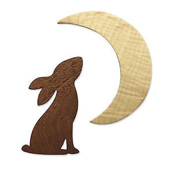 Sizzix Bigz Die - Rabbit & Moon 665099 Olivia Rose