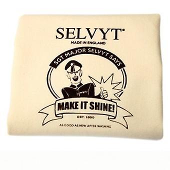 Selvyt Sgt. Major SR A Polishing Cloth 25x25cm-Two Packs