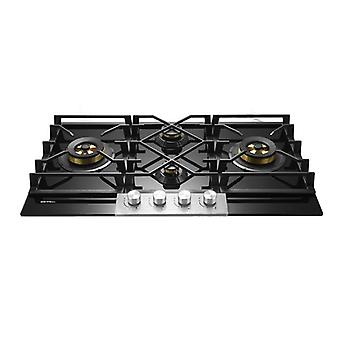 Four-eye Gas Cooker Double Embedded Gas Cooker Liquefied Natural Gas Cooker
