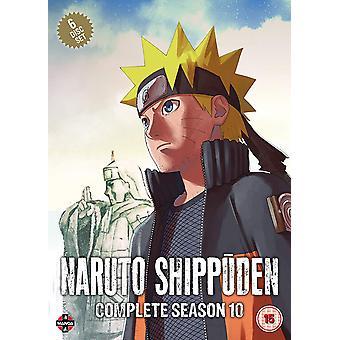 Naruto Shippuden Complete Season 10 Set (Episodes 459-500) DVD