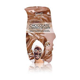 Chocolate and Shea Face Mask 15 ml of cream
