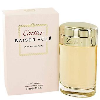 Baiser Vole Eau De Parfum Spray da Cartier 3.4 oz Eau De Parfum Spray