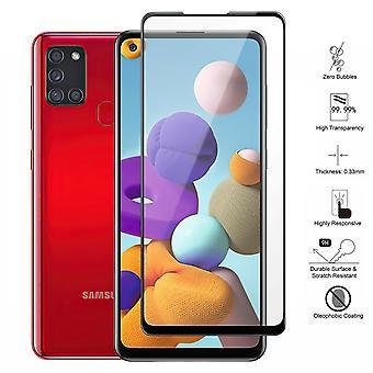 Samsung Galaxy A21s - Karkaistu lasi näytön suoja