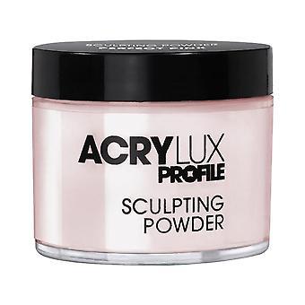 Acrylux-veistoksellinen jauhe - täydellinen vaaleanpunainen
