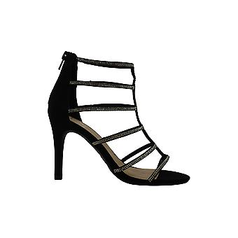 Matériel Girl Womens TACY Peep Toe Special Occasion Strappy Sandals
