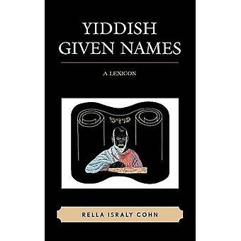 Jiddische voornamen