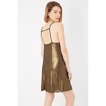 Please Oro Gold Dress
