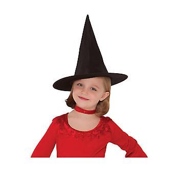 Chapeau de sorcière noir fille