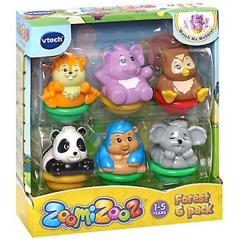 Vtech ZoomiZooz Forest Animals 6 Pack