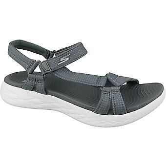 Skechers ON The GO 600 15316CHAR universal summer women shoes