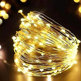 Led String Lights Silver Wire