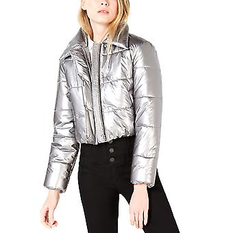 Bar III | Metallic Puffer Jacket