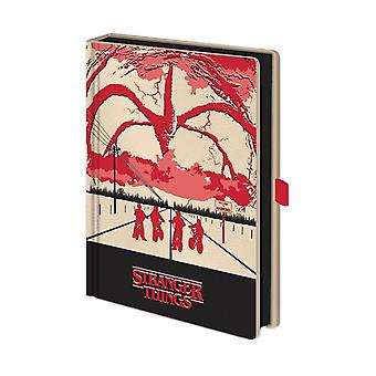 Stranger Things Mindflayer Premium A5 Light Up Notebook