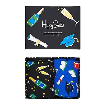 Happy Socks Graduation Zestaw prezentów 2 pack