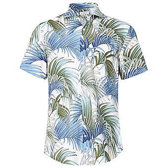 Baldessarini Short Sleeve Palm Print Keith 1/2 Shirt
