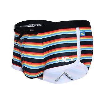 Andrew Christian California Stripe Trunk | Biancheria intima da | Pantaloncini boxer da uomo