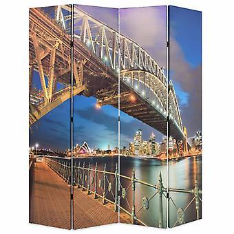 vidaXL перегородка для комнаты складная 160 x 170 см Сидней Харбор Бридж