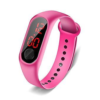 Children's Watch, Led Outdoor Sport, Digital Waterproof Clock,,