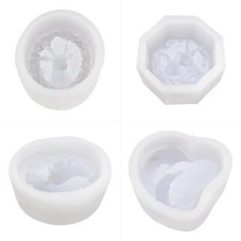 4 précèdent 3D Dolphin Rabbit Elk Silicone Soap Mold