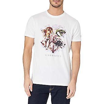 Springfield Camiseta Hogwarts T-Shirt, Snow White, M Man