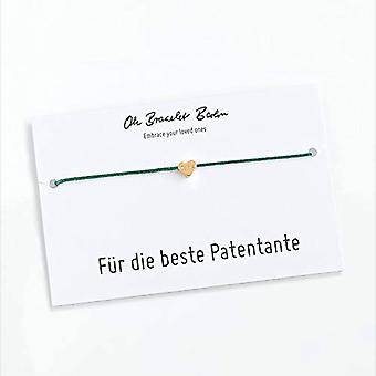 Patented bracelet with engraving, gift for the child, gift for baptism with patent letter and Color: gold, color: Ref. 0046382294750