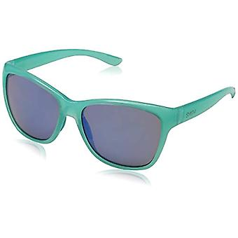 SMITH Ramona L9 WK2 56 Sunglasses, Turquoise (Aqua/Blue FL Grey Speckled), Woman
