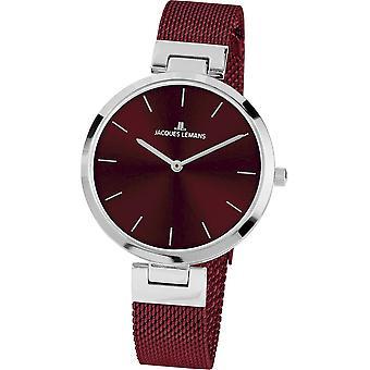 جاك ليمانز ساعة اليد المرأة ميلانو كلاسيك 1-2110I