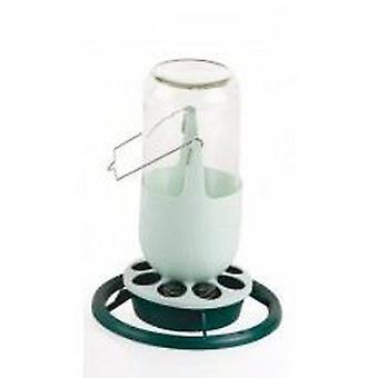 Yagu Sprue glas 1 liter (vogels, Feeders & Water Dispensers, voor kooien)