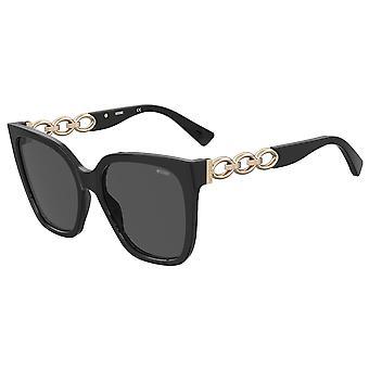 Moschino MOS098/S 807/IR Black/Grey Sunglasses