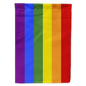 Carolines Treasures  CK7992GF Gay Pride Flag Garden Size
