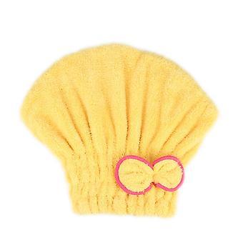 Macrofibre Quick Hair Drying Bath Spa Bowknot Wrap Towel