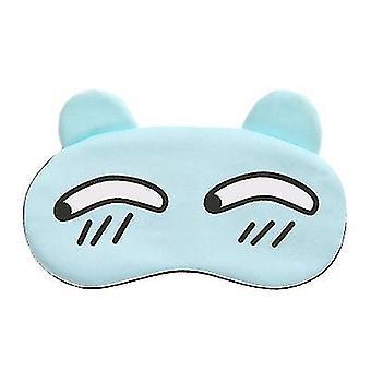 Picture5 nukkua söpö sarjakuva yksinkertainen hedelmä jää pakkaus jää kuuma suoja silmänaamari x7810