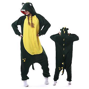 Regenboghorn Crocodile Costume Pajama Onesie Kigurumi Jumpsuit Animal Hoodie