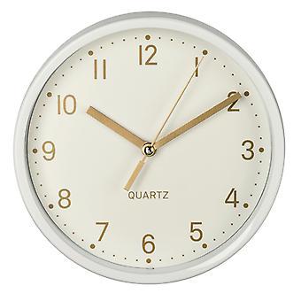 Hama Table Clock Golden Low Noise Blanc