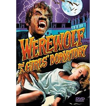 Werewolf in a Girl's Dormitory [DVD] USA import