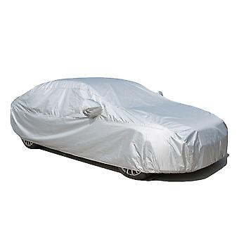 Mile Car Cover Uv Protection Basic Guard 3 Layer Breathable Dust Proof Universal Fit Full Car Cover