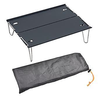 Kannettava taitettava pöytä Camping Outdoor Travel Picnic Pöydät Ultralight Alumiiniseos Mini Desk