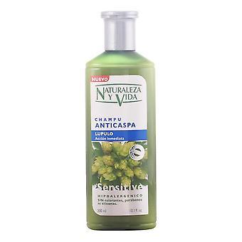 Shampoo Naturaleza y Vida Sensitive Anti-dandruff (300 ml)