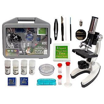 Detský mikroskop 28-dielny v kufri - vzdelávacie hračky