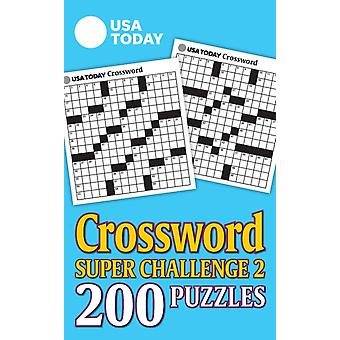 USA Today Crossword Super Challenge 2 29  200 Puzzles by Usa Today