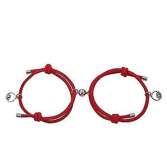 Creative Couple Bracelet(Red)