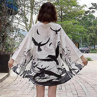Kimono kimono tradizionale camicia da camicetta cosplay per donna